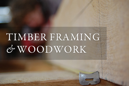 Timber framing and woodwork